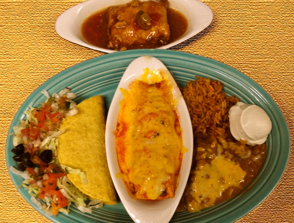 Mexican Food Combination #5 at Cintia's of Mexico Restaurant (CLOSED)