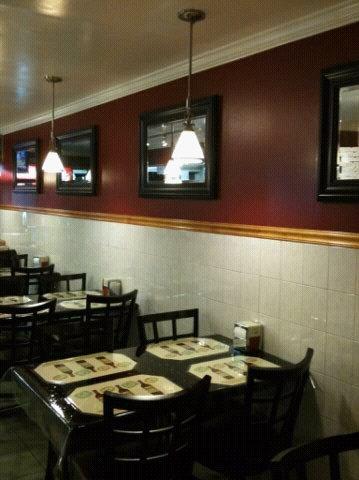 Interior at J & D Pizzeria Restaurant