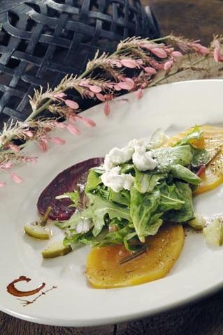 Beet salad at Cartwright's Sonoran Ranch House