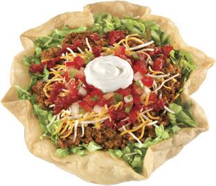 Taco Salad at Carl's Jr.