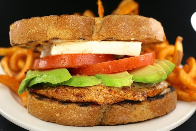 Chicken Panini Sandwich at columbia restaurant