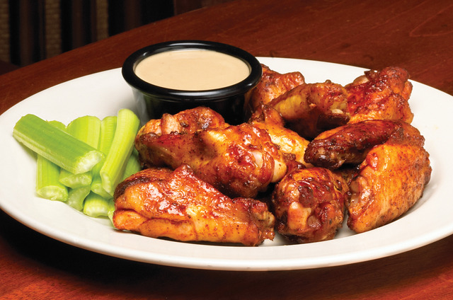 Wings at Sticky Fingers RibHouse