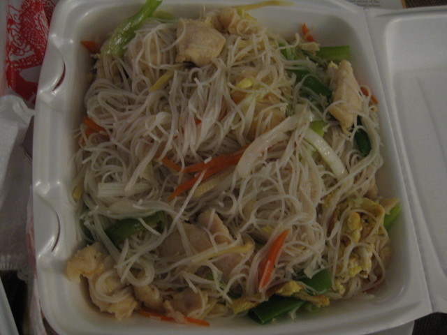 Chicken Chow Mei Fun at Dragon House West