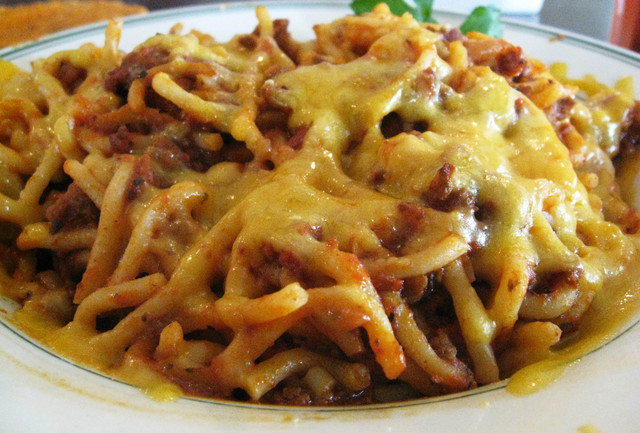 Photo of Baked Spaghetti