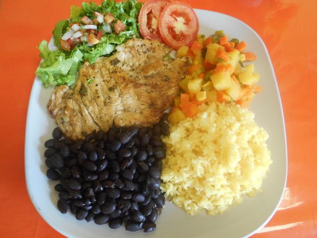 Marinated chicken meal. - Pollo a la Plancha at Catalina's Restaurant