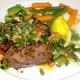 Petite Filet Pepper Steak at Dal Rae