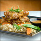 Almond Crusted Chicken - Almond Crusted Chicken at Stir Crazy Cafe