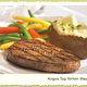 NEW ANGUS TOP SIRLOIN STEAK - NEW ANGUS TOP SIRLOIN STEAK at Shaab Restaurant