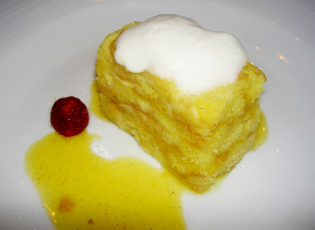 Photo of Caramelized Meyer Lemon & Polenta Pudding