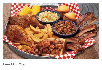 Feast for Two at Famous Dave's