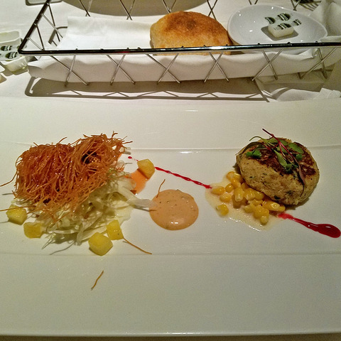 Shrimp and crab at Sesame Grill
