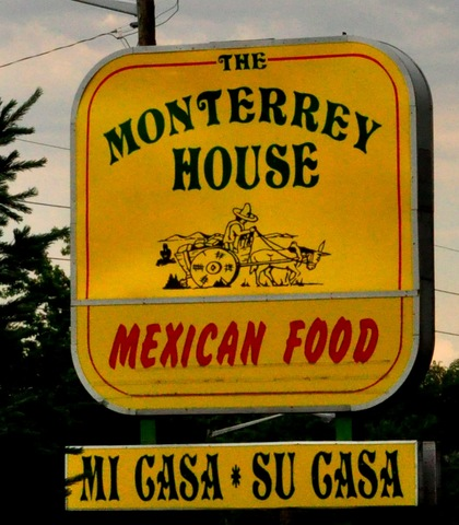 Logo at Monterrey House