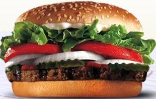 WHOPPER® at Taxi's Hamburgers