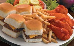 Photo of Bar Burgers & Wings Platter