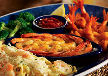 Seaside Shrimp Trio at Red Lobster