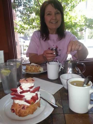 Photo of STRAWBERRY SHORTCAKE AND CARROT CAKE