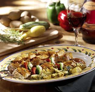 Mixed Grill at Isaac's Restaurant & Deli