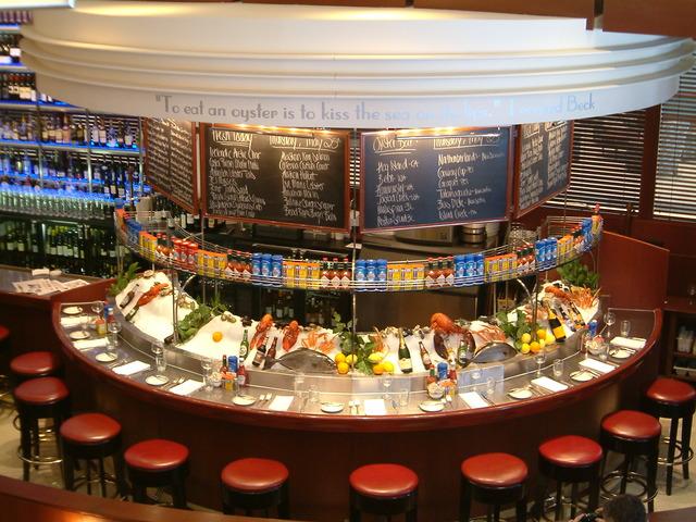 Oceanaire Seafood Room Restaurant Week Menu