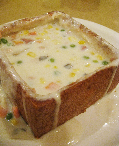 Photo of Cream Soup in Fried Toast