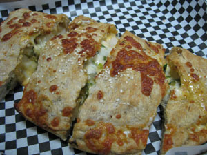 Calzone - Calzone at Weeksie's Pizza