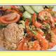 Garlic Shrimp - Garlic Shrimp at L & L Hawaiian Barbecue