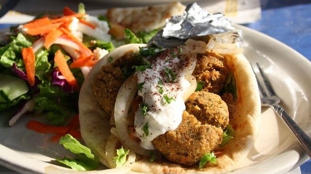 falafel at The Grill