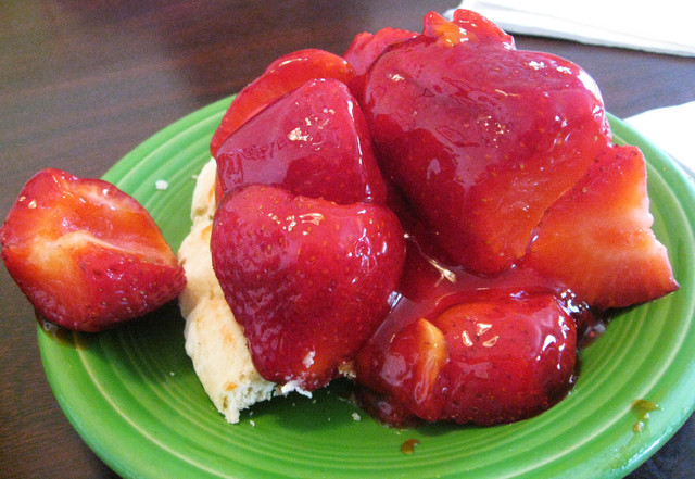 Strawberry Pie at Bake N' Broil