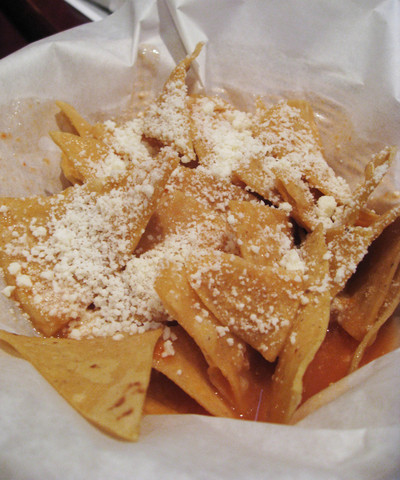 Tortilla Chips at El Katracho