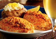 Seafood Stuffed Flounder at Red Lobster