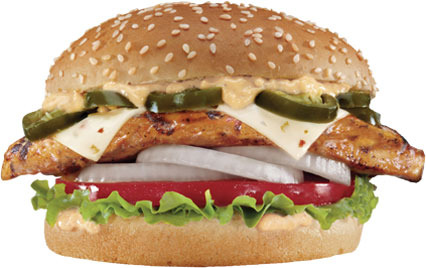 Jalapeno Chicken Sandwich at Carl's Jr.