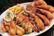 Shrimp Adventure Platter at Elephant Bar Restaurant