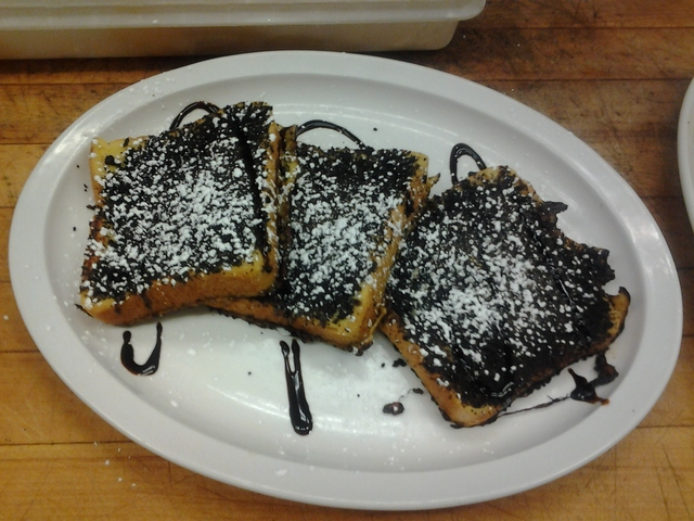 Oreo cookie french toast at Monroe Diner Inc