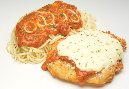 Chicken Parmigiana at Big Boy Restaurants