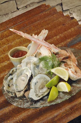 Seafood platter at Cartwright's Sonoran Ranch House
