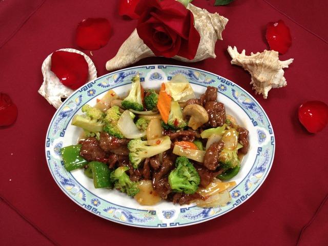 Hunan Beef at Mandarin Garden