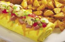 Everything Omelete at Perkins Restaurant