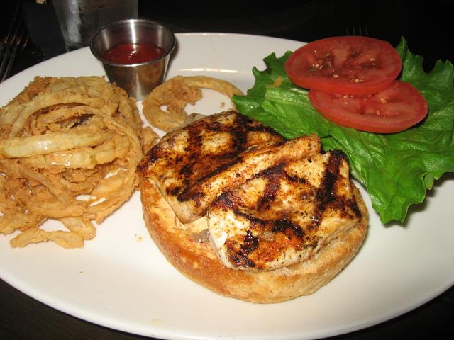 La food show grill bar menu reviews beverly hills for Bar food la menu