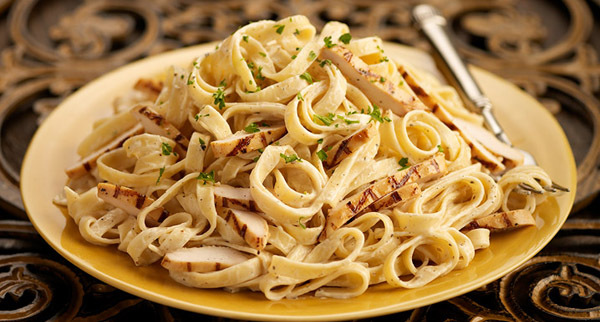 Chicken Fettuccine at Carino's Italian Grill