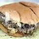burger and fries at columbia restaurant