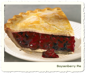 BOYSENBERRY PIE at Coco's Restaurant & Bakery