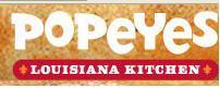 Logo at Popeye's Chicken & Biscuits