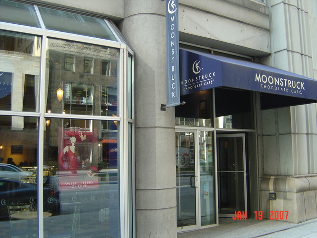 Moonstruck Chocolate Cafe Chicago