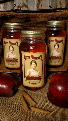 Limited sales on site. - Kitty Walton's Apple Pie Moonshine at Walton's Distillery
