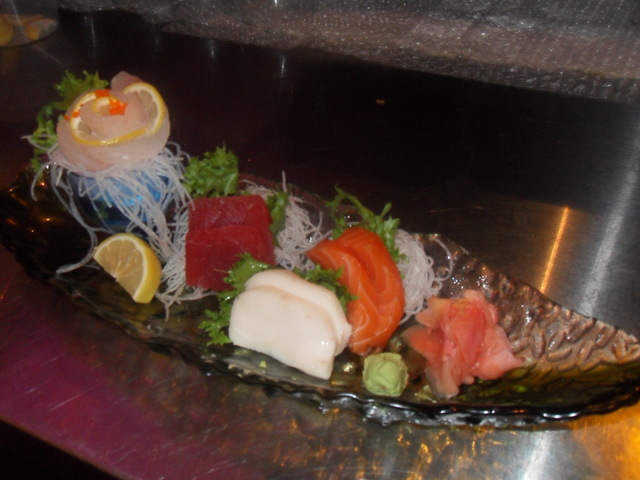 Sashimi Appetizer at Shangerila Restaurant