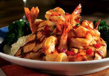Honey BBQ Shrimp and Chicken at Red Lobster