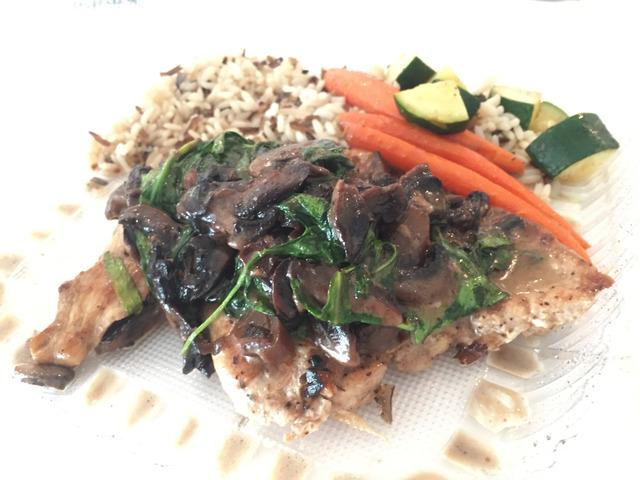 Chicken Marsala at VC Gourmet