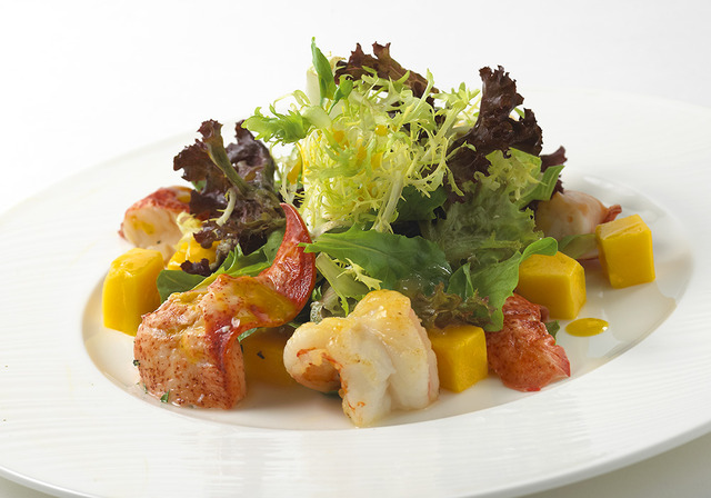 Lobster Mango Salad at Westwood Bistro