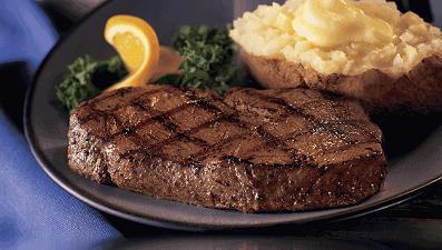 Dish at Ponderosa Steakhouse