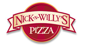 Logo at Nick-N-Willy's World Famous Take-N-Bake Pizza