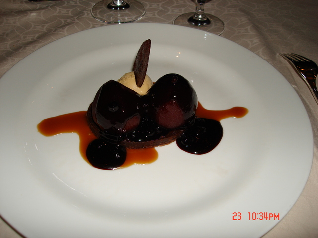 Photo of Poached Pears